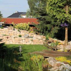 Natursteine Hecklingen, Teichgestaltung, Gartengestaltung